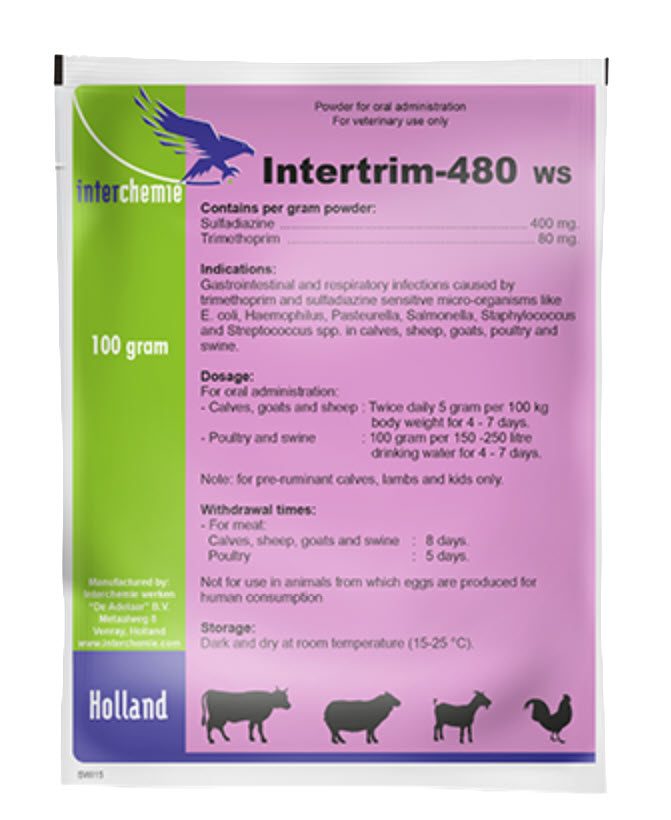 Medecine Intertrim 480 WS 100 GM