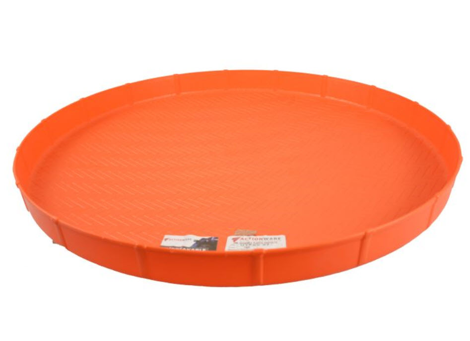 Rounded Plastic Tray Action 27 Inch (763)